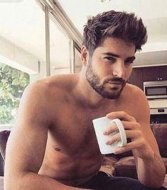 Nick Bateman - hair and facial hair. Nick Bateman, Men Coffee, Black Coffee, Morning Joe, Morning Coffee, Coffee Time, Coffee Break, Tea Time, Hair Styles 2016