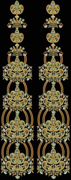 Latest Embroidery Designs For Sale, If U Want Embroidery Designs Plz Contact (Khalid Mahmood, +92-300-9406667) Design# Laju7-B