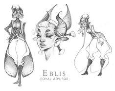 Demons and Other Ilk: Advisor Eblis pt. 2 by dapper-owl.deviantart.com on @DeviantArt