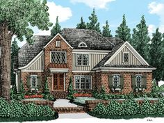 Another very strong possibility - smallest footprint.... very nice layout -- no front porch