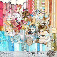 Sleepy Time  #theStudio #digiscrap