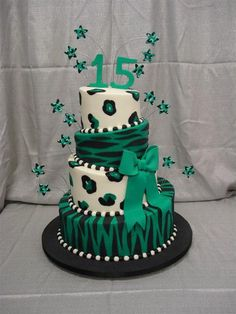 Image result for 15th birthday cakes