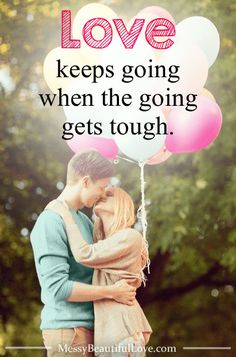 Love and marriage are not always very easy. Love is a choice in the hard times. Here's how love keeps going when the going gets tough. #marriagegoals #womenlivingwell #messybeautifullove Cute Love Quotes, Love Quotes For Him, Long Distance Love, Marriage Goals, Love And Marriage, Marriage Advice, True Love, Love Is A Choice, Tough Woman