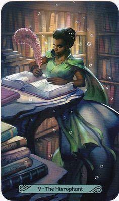 Mermaid Tarot, Spiritual Authority, All Tarot Cards, Angel Readings, The Hierophant, Online Tarot, Taurus Woman, Oracle Tarot, Angel Cards