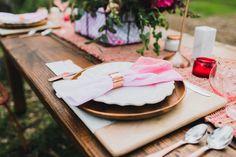 Modern Garden Wedding Inspiration