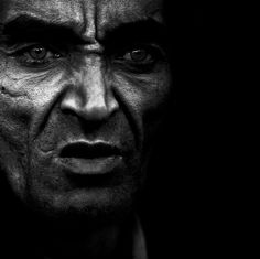 from lee jeffries' portraits of the homeless.