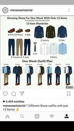 Bonito Business casual men - Business attire for men - Mens wardrobe essentials - Mens fashion casual - Business casual men, Business attire for. Capsule Wardrobe Men, Mens Wardrobe Essentials, Men's Wardrobe, Office Wardrobe, Trajes Business Casual, Business Casual Outfits, Business Formal, Mens Style Guide, Men Style Tips