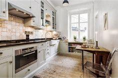 Znalezione obrazy dla zapytania zagospodarowanie przestrzeni pod oknem w kuchni