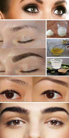 7 Tratamentos Caseiros Para Engrossar As Sobrancelhas De Maneira 100% Natural #tratamentos #caseiros #engrossar #sobrancelhas