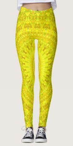 Shop Sun Triangle Mandala Leggings created by ZyddArt. Yoga Fashion, Urban Fashion, Bohemian Design, Bohemian Style, Mandala Design, Leggings Fashion, Boho Outfits, Printed Leggings, Dressmaking
