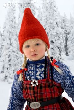 I can remember my mum taking me home an outfit like this from Norway.  Must of been about four.  She still has it, bless xx