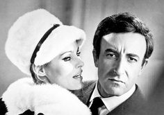 """Ursula Andress and Peter Sellers in """"Casino Royale"""" (1967)"""
