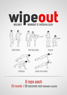 Wipeout Workout