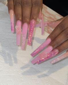 Color For Nails, Nail Colors, Acyrlic Nails, Diy Acrylic Nails, Exotic Nails, Dope Nails, Nail Trends, Cosmetology, Nail Tech