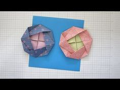 HOW TO FOLD AN ORIGAMI FLOWER - CAMELLIA. This video includes step by step instructions for how to fold an origami flower. This Traditional Origami Camellia is perfect for decorating flat craft projects including making paper garlands and wedding tables! Origami Flowers, Paper Flowers, Paper Folding, How To Make Paper, Camellia, Step By Step Instructions, Purses And Bags, Craft Projects, Crafts For Kids