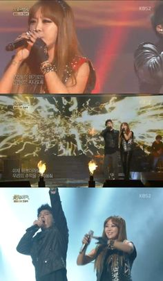 Brown Eyed Girls' Narsha performs for the first time on 'Immortal Song 2′