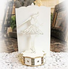 New item listingreneabouquets beautiful board 3d purse with large new item listingreneabouquets beautiful board 3d ballerina on stage do it yourself laser cut solutioingenieria Image collections