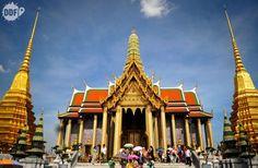 Grand, Palace, Temples in Bangkok, Tailandia, #Thailand,