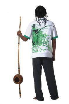 Capoeira tshirt Roda Verde (soon available $49) by Mestres Brasil