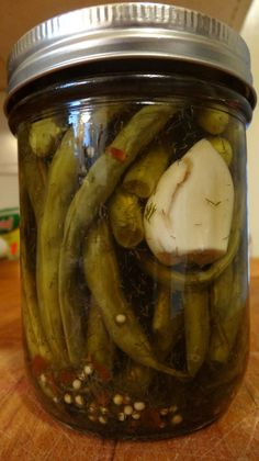 The Basics of Home Canning and Pickling, #Beans, #Dilly, #Home