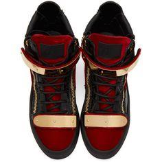 9 Best giuseppe zanotti red velvet london high tops images  89154c2b9