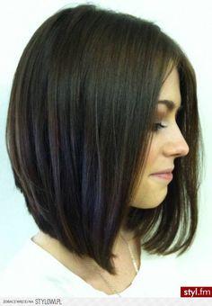 Fryzury Średnie włosy: Fryzury Średnie - Magdalena Dzi… na Stylowi.pl