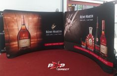 #remymartin Remy Martin, Wall Banner, Exhibition Display, Banner Printing, One Life, Banners, Pop, Events, Expo Stand
