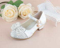 6e48f112f (eBay Sponsored) New Kids Girls Princess Sandals Wedding Shoes High Heels  Dress Shoes Party Ske15