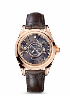 OMEGA   Founding  Year  1848  La Chaux-de-Fonds  Switzerland   Design  Model   De Ville Tourbillon