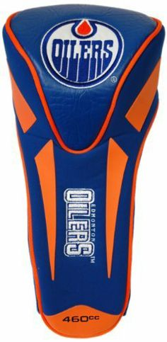 NHL Edmonton Oilers Single Apex Headcovers by Team Golf. $24.99. Fits all oversized clubs. Made of buffalo vinyl and synthetic suede like materials with a truly sleek design. Includes 4 location embroidery. This headcover fits all oversized clubs, and is made of buffalo vinyl and synthetic suede materials with a truly sleek design. Includes 4 location embroidery.