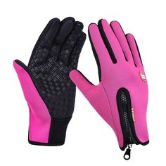 Waterproof Winter Warm Gloves Windproof Outdoor Gloves Thick Warm Mittens Touch Screen Gloves Unisex Antislip Glove Men Color Black Gloves Size S Bike Gloves, Motorcycle Gloves, Cycling Gloves, Mens Gloves, Leather Gloves, Fleece Gloves, Motorcycle Camping, Camouflage, Fishing Gloves