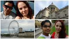 Auckland To London | St Paul's Cathedral, London Eye, Big Ben | Travel Vlog
