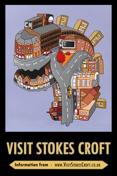 Visit Stokes Croft Poster: SC_PP0002
