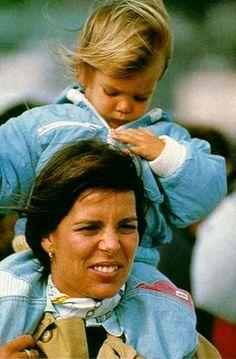 Princess Caroline of Monaco and daughter Charlotte Casiraghi.