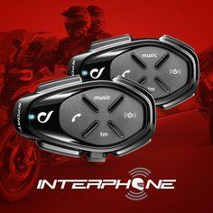 Novo Intercomunicador Sport da Interphone para capacete até 1Km: http://www.masada.com.br/intercomunicador-s-fio-bluetooth-p-capacete-duplo-interphone-sport-1000-metros-p25405/ #intercomunicador #moto #interphonebrasil