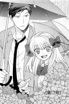 Sakura Chiyo x Nozaki Umetarou / Gekkan Shoujo Nozaki-kun Kenma Kozume, Anime Love, Manhwa, Manga Anime, Anime Art, Monthly Girls' Nozaki Kun, Otaku, Little Misfortune, Belle Cosplay