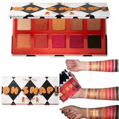 Available NOW @sephora online ! ❤️ #Holidays2019 ... The NEW Oh Snap Gingerbread Fun Sized Mini #EyeshadowPalette by @shopvioletvoss ! ❄️🌟 - 💵Oh Snap Gingerbread Mini #Palette $18 ✨A fun-size palette with 10 pans of neutral to bold shades in ultra-addicting formulas.✨ ❄️❤️ ———————————————— #violetvoss #shopvioletvoss #violetvosspalette #eyeshadow #eyemakeup #makeup #cosmetics #beautynews #makeupblogger #newmakeup #newpalette #holidaymakeup #makeupswatches #wakeupandmakeup #instamakeup…