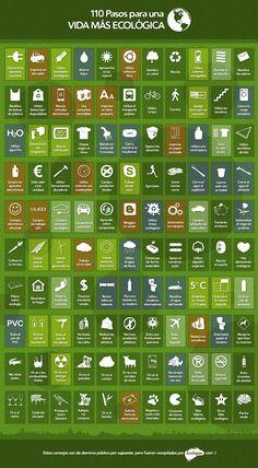 100 pasos para una vida más ecológica
