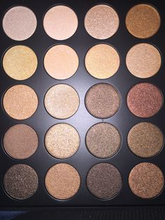 35OS Morphe palette-First 20 shades. Gorgeous!!! You never need a Natural/Brown Shimmer again!