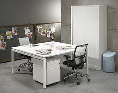 Bureau | Design | Wit | Strak | Office | http://www.mvkantoor.nl/pd-23918-1-10496/product/bureaus