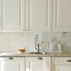 White industrial tiles with Terraviiva Lace Tiles