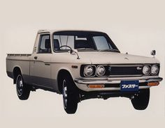 In 1972 Isuzu Motors signed a capital agreement with General Motors, the Isuzu Faster is released as the 1st generation Isuzu Ute and exported all around the world.