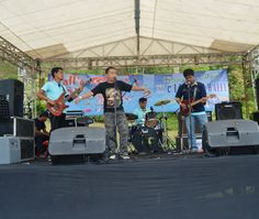 on The Stage at Kampung Gajah Wonderland, Bandung