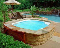 hot tub ideas | Hot Tub Installation Ideas #home #hottub #pool