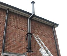 Twin Skin Flue System done by Manor House Fireplaces