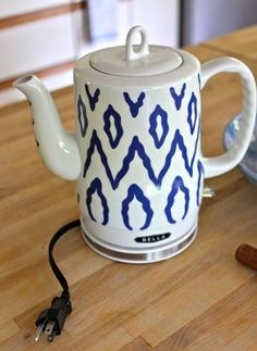 The best looking electric tea kettle.