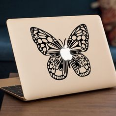BUTTERFLY MacBook Decal Sticker fits 11 13 15 and by LondonDecal