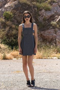 The Pinafore Dress/Skirt by BRAINSHOT on Etsy