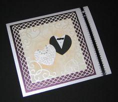Tarjeta de matrimonio - Scrapbook.com