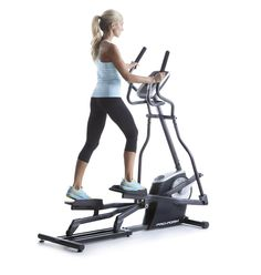 ProForm Easy Strider Elliptical Machine with Workout Fan, Gray Workout Status, Low Impact Workout, Home Gym Equipment, No Equipment Workout, Fun Workouts, At Home Workouts, Elliptical Trainer, Striders, Workout Machines
